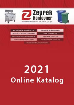 Zeyrek Çöp Konteyner 2020 Genel Katalog